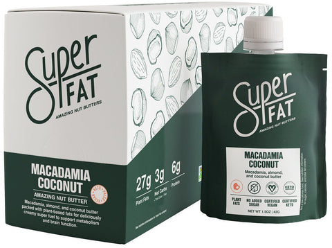 SuperFat Macadamia Coconut Nut Butter