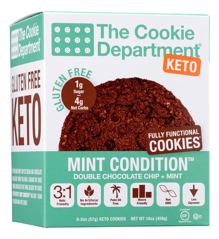 The Cookie Department Mint Condition Cookies (KETO & Gluten Free)