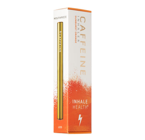 Inhale Health Caffeine Inhaler - Sunburst Orange