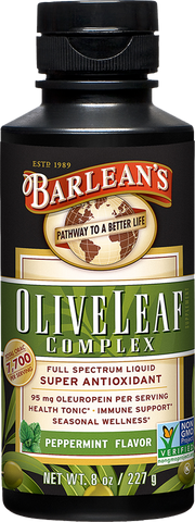 Barlean's Olive Leaf Complex - Peppermint