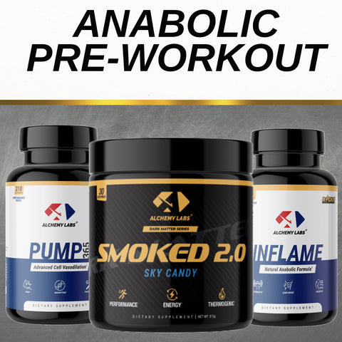 Alchemy Labs Anabolic Pre-Workout Stack
