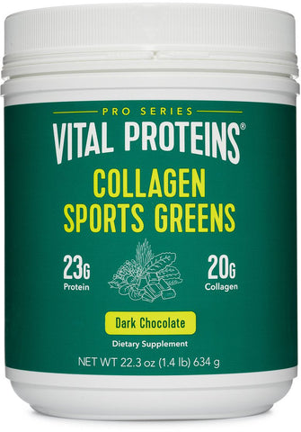 Vital Proteins Collagen Sports Greens - Dark Chocolate