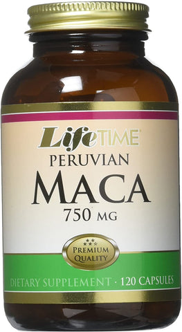 LifeTime Peruvian Maca 750 mg
