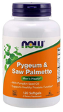 NOW Pygeum & Saw Palmetto Extract