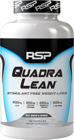 RSP Nutrition QuadraLean Stimulant Free Weight Loss