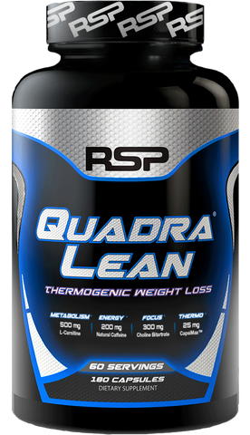 RSP Nutrition QuadraLean Thermogenic Weight Loss