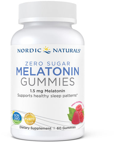 Nordic Naturals Zero Sugar Melatonin Gummies