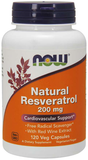 NOW Natural Resveratrol 200mg