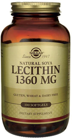 Solgar Lecithin 1360 mg