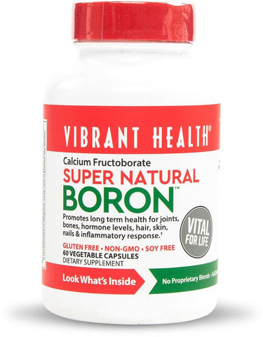 Vibrant Health Super Natural Boron