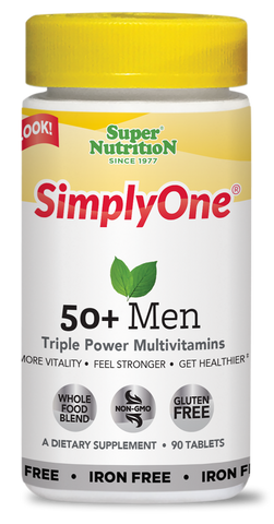 Super Nutrition Simply One 50+ Men (Iron Free)