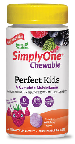 Super Nutrition Simply One Chewable Perfect Kids