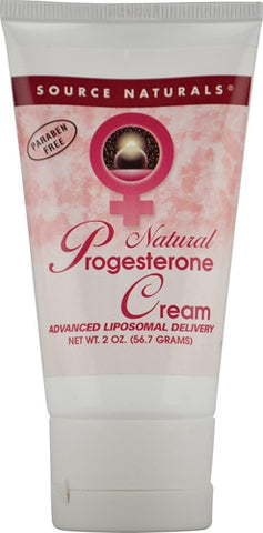 Source Naturals Progesterone Cream in Tube