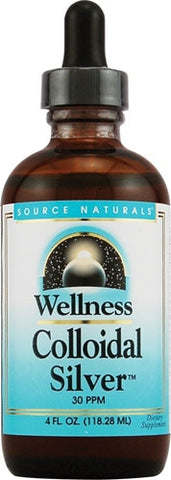 Source Naturals Wellness Colloidal Silver 30 ppm