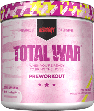 REDCON1 Total War Pre-Workout Pink Lemonade Limited Edition