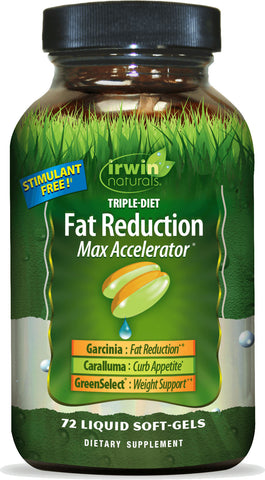 Irwin Naturals Triple-Diet Fat Reduction Max Accelerator