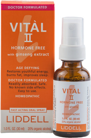 Liddell Laboratories Vital II Hormone Free with Ginseng Extract