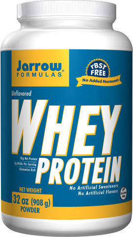 Jarrow Formulas 100% Natural Whey Protein - Unflavored