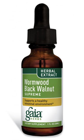 Gaia Herbs Wormwood Black Walnut Supreme