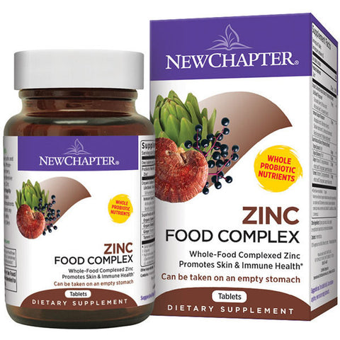 New Chapter Zinc Food Complex