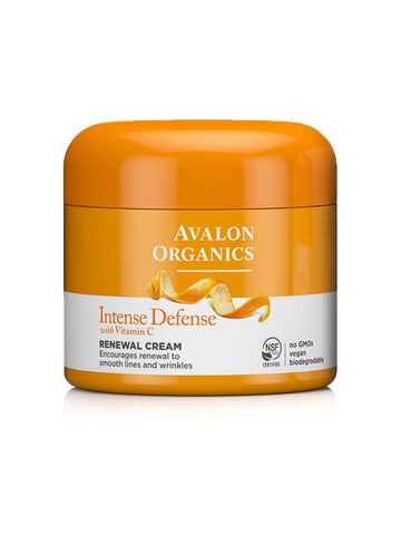 Avalon Organics Intense Defense with Vitamin C Renewal Cream