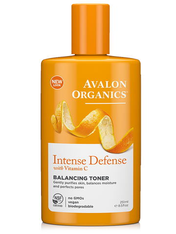 Avalon Organics Intense Defense with Vitamin C Balancing Toner