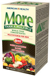 American Health More Than A Multiple Multivitamin For Men