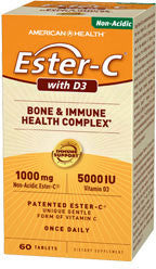 American Health Ester-C with D3 Bone & Immune Health Complex