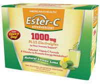 American Health Ester-C Effervescent - Natural Lemon Lime