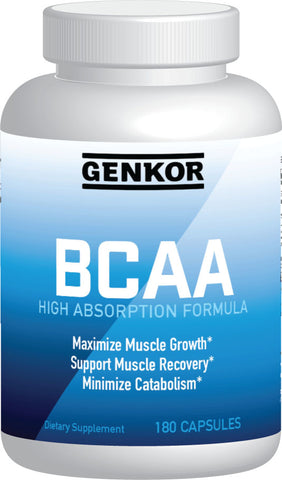 Genkor High Absorption BCAA Caps