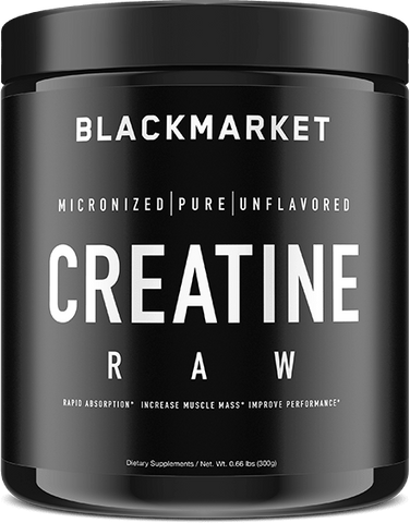 Blackmarket Labs RAW Creatine