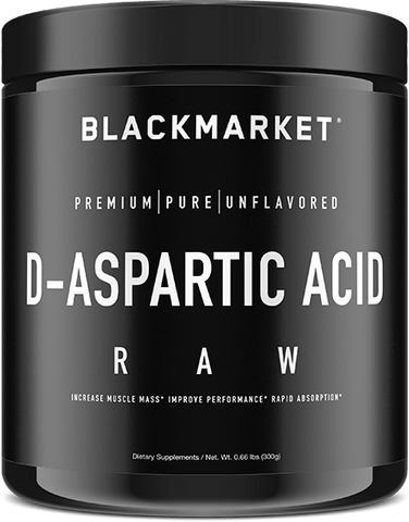 Blackmarket Labs RAW D-Aspartic Acid
