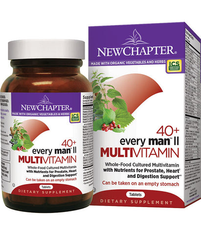 New Chapter 40+ Every Man II Multivitamin