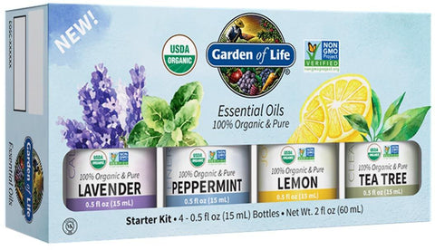Garden of Life Essential Oils Starter Kit