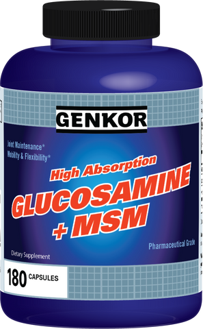 Genkor High Absorption Glucosamine + MSM