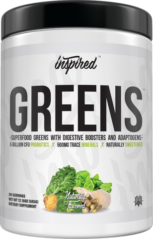 Inspired Nutraceuticals GREENS Superfood Powder