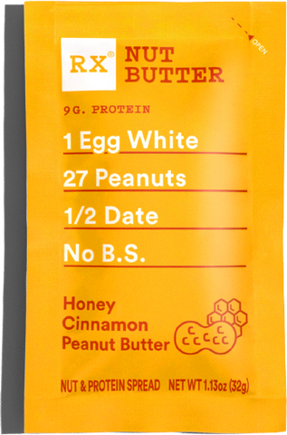RX Nut Butter - Honey Cinnamon Peanut Butter