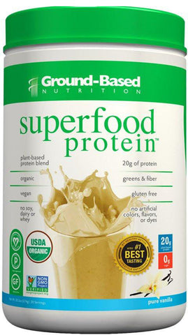 Ground-Based Nutrition Superfood Protein