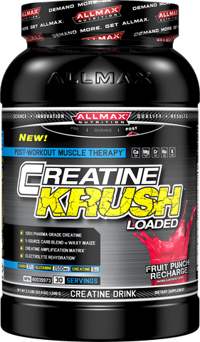 ALLMAX Nutrition Creatine KRUSH Loaded - Fruit Punch Recharge