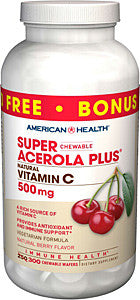 American Health Super Chewable Acerola Plus