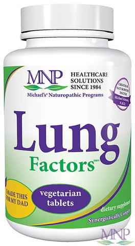 Michaels Naturopathic Programs Lung Factors