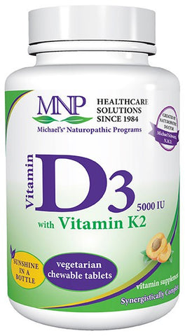 Michaels Naturopathic Programs Vitamin D3 5000 IU with Vitamin K2