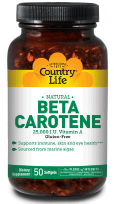 Country Life Natural Beta Carotene