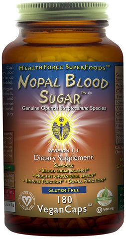 HealthForce SuperFoods Nopal Blood Sugar
