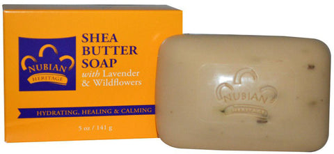 Nubian Heritage Bar Soap - Lavender & Wildflowers