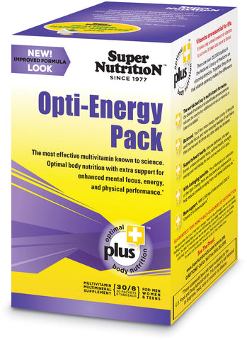 Super Nutrition Opti-Energy Pack