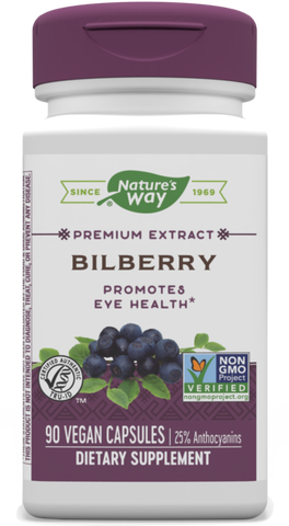 Nature's Way Bilberry Extract (Standardized)