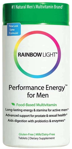 Rainbow Light Performance Energy Multivitamin for Men