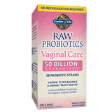 Garden of Life RAW Probiotics Vaginal Care 50 Billion (Shelf-stable)