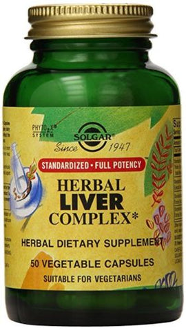 Solgar SFP Herbal Liver Complex